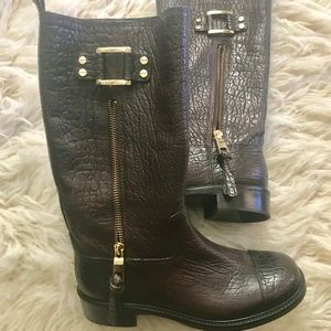 AUTHENTIC Tory Burch Stowe mid boot - Donated!